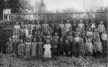 1918 Lehrer Karl Urech / Schüler August Lenzi Jg1908