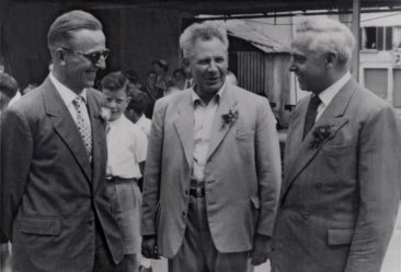 Willi Basler, Hans Bertschi, Willi Wagen