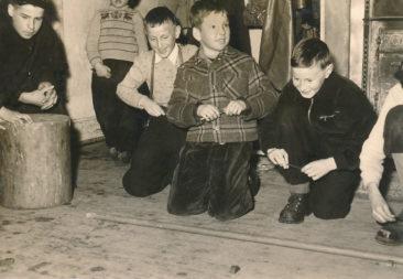 be de Wölfli en Lenzburg am 11.11.1954