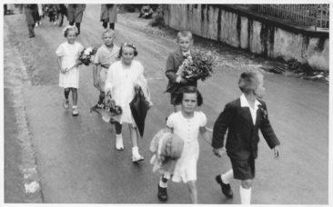 Turnhalle Einweihung 1954