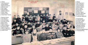 Jg 56+57 4+5.Klasse Lehrer Max Frieden 1967