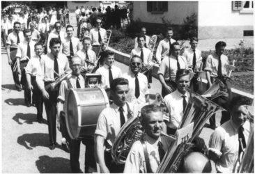29.6.1958 Musikgesellschaft Niederlenz