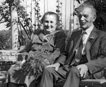mis Grosi & Grossvater am Goldige Hochset  1960
