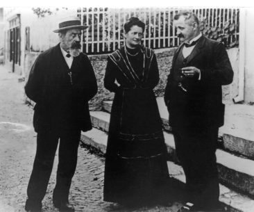 Friedrich Reck, Marie Wildi, Emil Stocker 1915