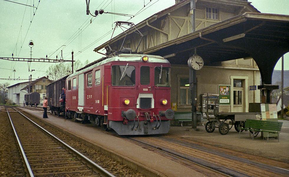 SBB-De 4/4 1668