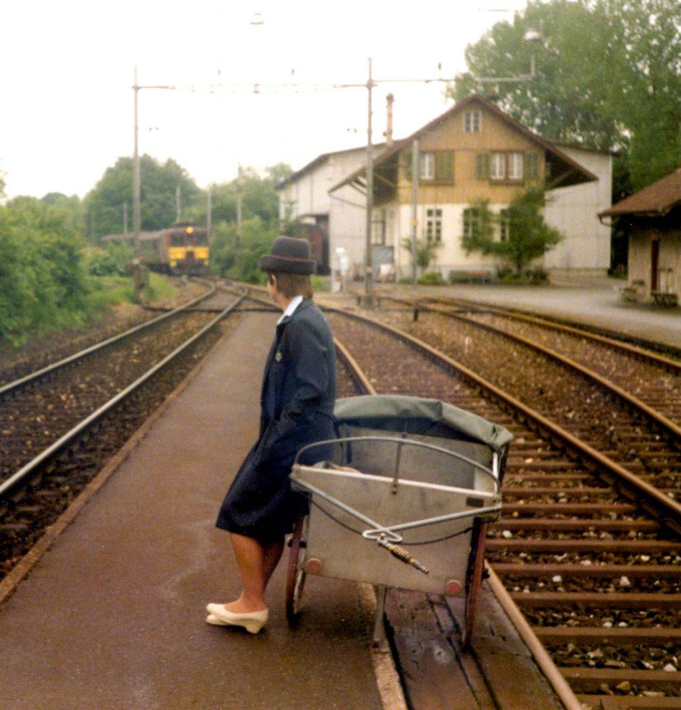 Bahnpost 2.6.84 TM 2kr