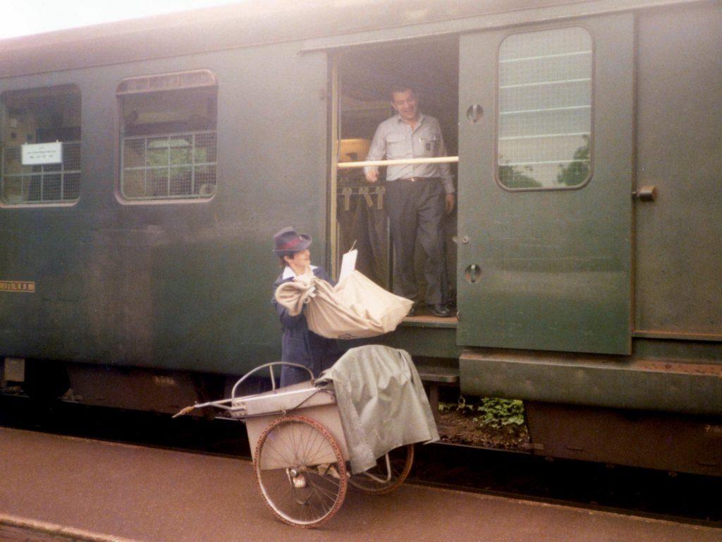 Bahnpost 2.6.84 TM 4kr