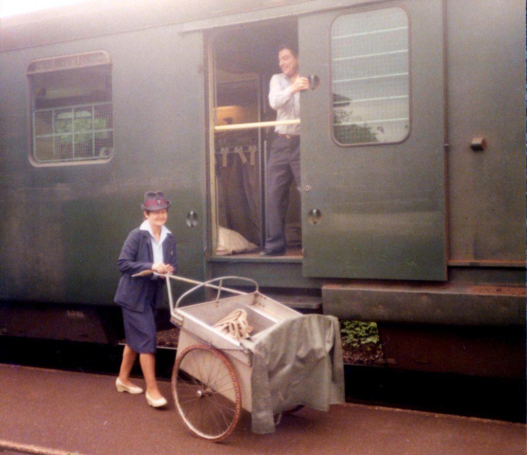 Bahnpost 2.6.84 TM 5kr