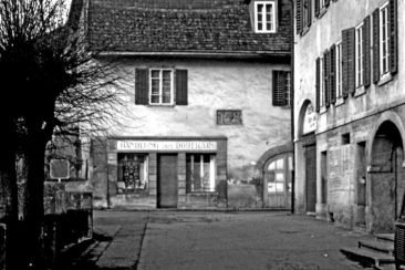 Handlung zum Dorfrain Fam. Bächli (Usego) 4.3.1973