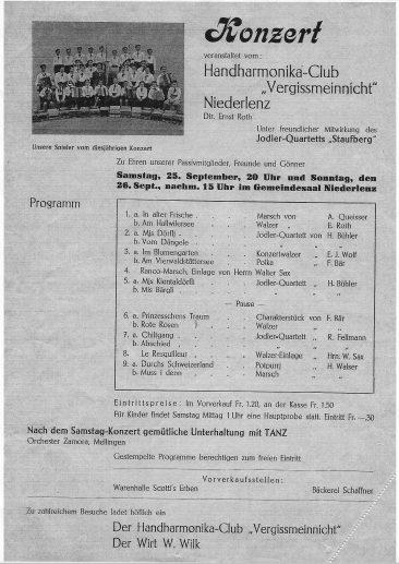 Konzert um 1937