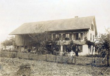 Elternhaus von Kurt Schmid an der Staufbergstrasse 39 um 1900