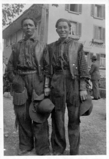 Fritz Barth und Stauber-Buchmann 1931
