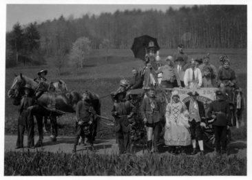 Nederlänzer of Wärbetur för's Eierufläse 1931 vor Egliswil