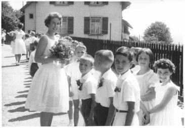 1961 Jg53 mit Frau Maja  Hauser-Barth 2.Klasse