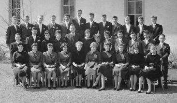 Jg 44 Konf. mit Pfarrer Kurt Marti  10.4.1960