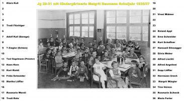 Jg 30+31 Schuljahr 1936/37