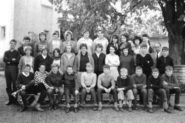 Jg 48-50 Oberschule Lehrer Hans Joho 1962