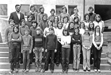 Jg 57 9.Klasse Lehrer Jean Jacques Meyer 1972-1973