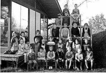 Jg 59 mit Heidi Halder 1965 Kindergarten Herrengasse am Lochackerweg
