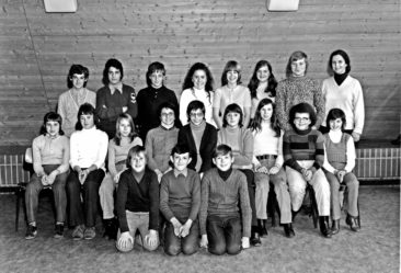 Jg 59 6.Klasse Lehrerin C.Hobi 1971