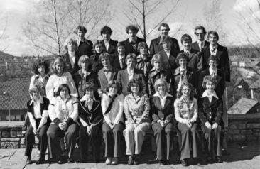 Jg 61 Konf. mit Pfarrer Christoph Hediger  1977