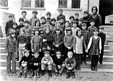 Jg 62 1.Klasse Lehrerin Margrit Ammann 1969
