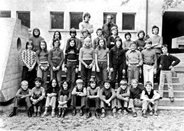 Jg 62 5.Klasse Lehrer Oskar Merz 1973
