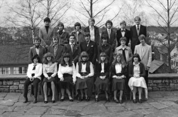 Jg 64 Konf.2 mit Pfarrer Moor  30.März 1980