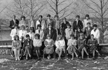 Jg 67 Konf. mit Pfarrer Andreas Moor  27. März 1983