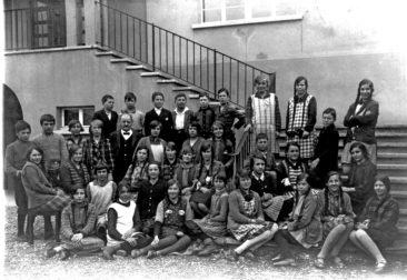 Jg 14 + 15  Lehrer Emil Stocker   1928