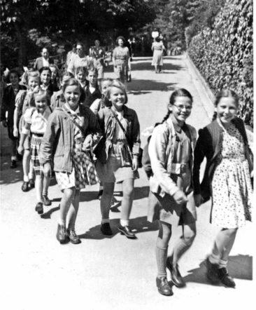 Jg 36 Schulreise 5. Kl. 1947 Bürgenstock