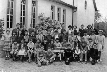 Jg 49   4.Klasse Lehrer Hans Bertschi    1959