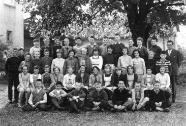 Jg 51  5.Klasse Lehrer Oskar Merz  1962