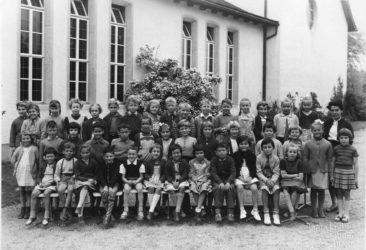 Jg 52 1.Klasse Lehrerin Frl. Irma Landis Mai 1959