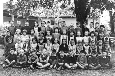 Jg 55 1.Klasse Lehrerin Frl. Irma Landis 1962
