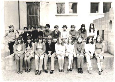 Jg 54-56 Obersdtufe Lehrer Hans Studler 1970