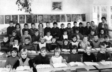 Jg 58+59 2+3.Klasse Lehrerin Frl. Irma Landis 1967