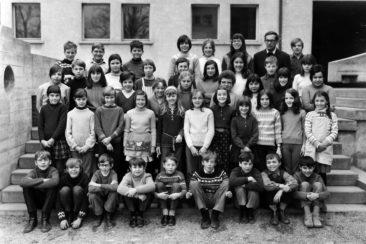 Jg 58+59 4+5.Klasse Lehrer Oskar Merz 1969