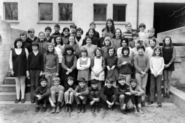 Jg 60 3.Klasse Lehrerin Frl. Heidi Hediger 1969