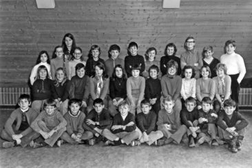 Jg 60 4.Klasse Lehrerin Heidi Hediger 1970