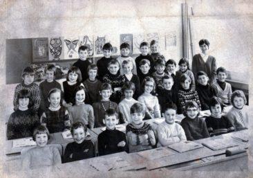 Jg 61+62 1+2.Klasse Lehrerin Jolanda Kull 1969