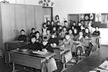 Jg 62 2.Klasse Lehrerin Frl. Jolanda Rudolf  1970