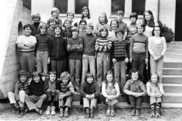 Jg 62 4.Klasse Lehrerin Frl. Heidi Hediger  1972