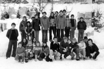 Jg 62+64 6.+8.Klasse Lehrer Alfred Linder 1976