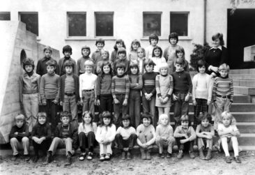 Jg 65 1.Klasse Lehrerin Frl. Susi Baumgartner  1972