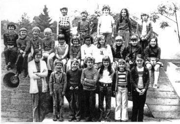 Jg 66 2.Klasse Lehrerin Margrit Ammann 1973