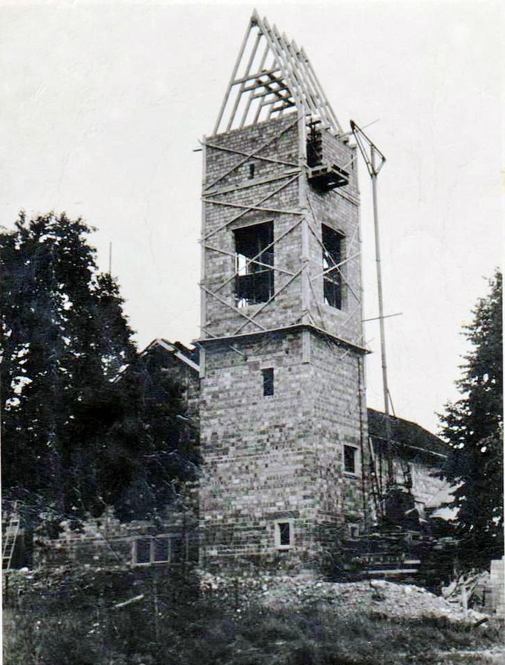 Kirchturm 1948 1