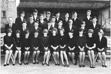 Jg 50 Konf. mit Pfarrer Hans Meier  1966