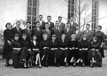 Jg 40 Konf. mit Pfarrer Kurt Marti  1956