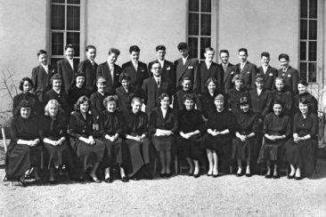 Jg 42 Konf. mit Pfarrer Kurt Marti  30.3.1958